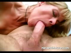 Hardcore mature sucking and...